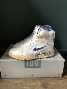 Taxi Complejo Producto  Nike air pump 180 new david robinson 1991 size 8us lakers colorway ds never  worn | eBay