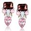 Fashion-Charm-Women-Jewelry-Rhinestone-Crystal-Resin-Ear-Stud-Eardrop-Earring thumbnail 36