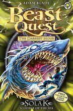 Solak Scourge of the Sea: Series 12 Book 1 (Beast Quest),Adam Blade
