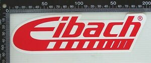 GENUINE-EIBACH-SUSPENSION-TECHNOLOGY-RACING-SPONSOR-USA-CAR-BUMPER-STICKER-DECAL