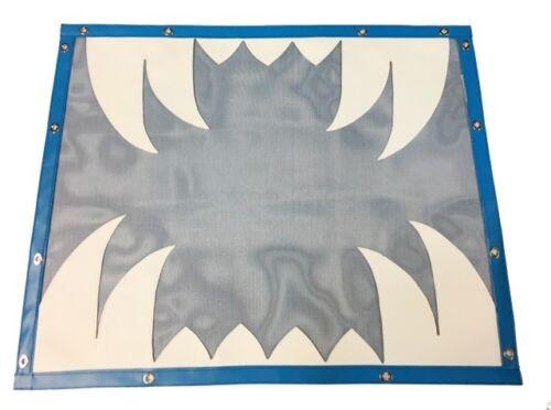Peterbilt 379 extended// Long hood Saber Teeth Designer Bug Screen BS-1989