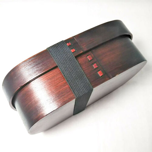 Mage Wappa Bento Box Cedar Wood Urushi Revêtement Artisan Fait Main 18 cm 2755