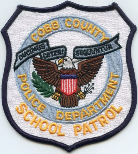 COBB COUNTY GEORGIA GA SCHOOL PATROL POLICE PATCH