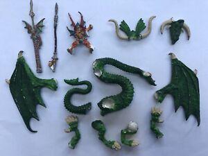 Imrik Seigneur des Dragons et Dragon Oop Metal Unboxed Whfb