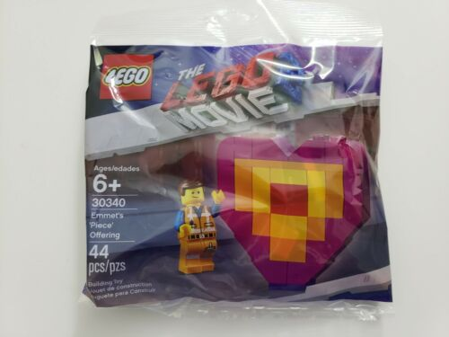 The LEGO Movie 2 Emmet/'s Piece Offering Heart Set 30340 Brand New Sealed