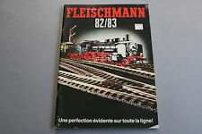 X059 FLEISCHMANN Train catalogue Ho N Rallye Monte Carlo 1982 83 96 pages F