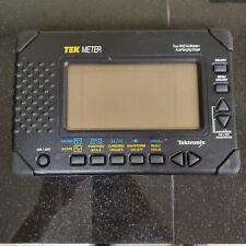 Tektronix Tek Meter Thm550 True Rms Multimeterauto Ranging Scope
