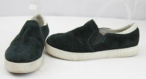 cec8c3a6408bd7 Circus By Sam Edelman Cruz Women s Suede Black Slip On Sneakers Size ...