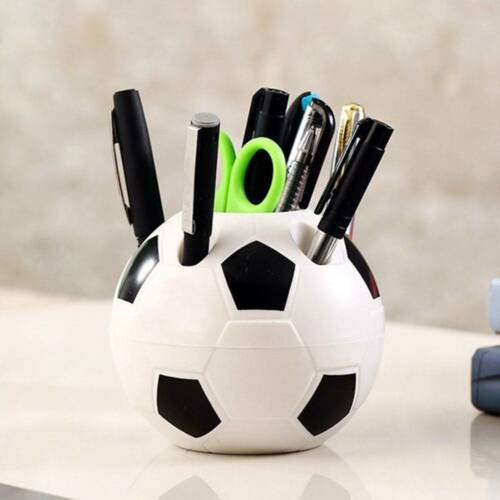 Football Shaped Toothbrush Holder Seat Pencil pen Holder  Desktop Storage Rack R