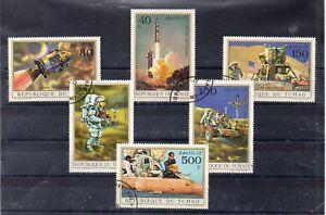 Chad-Espacio-Misiones-Espaciales-Serie-del-ano-1972-DO-290