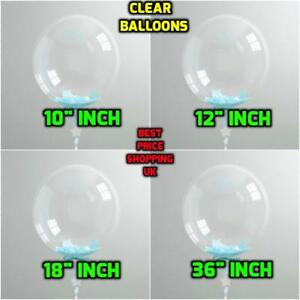 WHOLESALE-Round-Clear-Transparent-18-034-Large-Giant-Balloon-For-Birthday-Easter