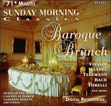 Various Artists : Sunday Morning Classics-Baroque Brunch CD