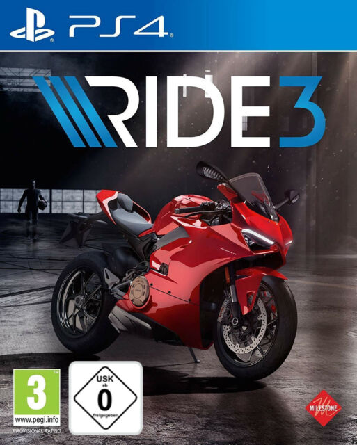 PS4 RIDE 3 Motorradrennen NEU&OVP Playstation 4