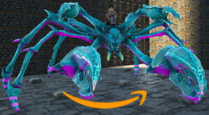 Ark-Survival-Evolved-PC-PVE-NEW-Cotton-Candy-KARKINOS-Clone-Lvl-216