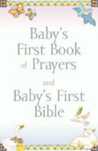 Baby's First Book of Prayers/Bible Gift Set by Melody Carlson, Good Book (Paperb
