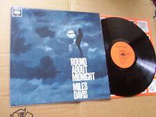 MILES DAVIS,ROUND ABOUT MIDNIGHT lp m-/m- cbs rec. 62323 made in holland