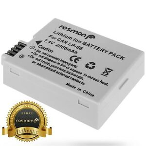 Fosmon-1x-2000mAh-LP-E8-Replacement-Battery-for-Canon-EOS-T2i-550D-LPE8-DSLR