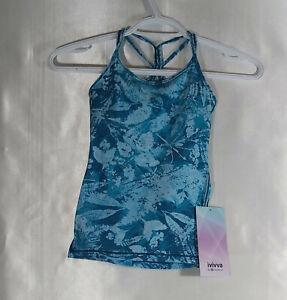 Brand-New-Tranquil-Spirit-Tank-Blue-Leaf-Pattern-w-tags