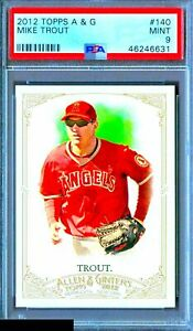 2012-Topps-Allen-amp-Ginter-Mike-Trout-RC-140-ROOKIE-PSA-9-MINT