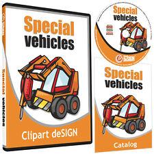 TRACTOR CLIPART-VINYL CUTTER PLOTTER IMAGES-EPS VECTOR CLIP ART GRAPHICS CD