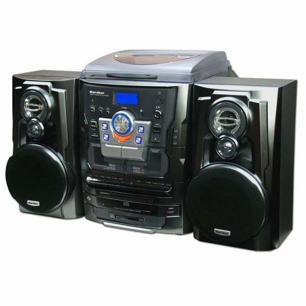 k rcher ka 350 stereoanlage ebay. Black Bedroom Furniture Sets. Home Design Ideas