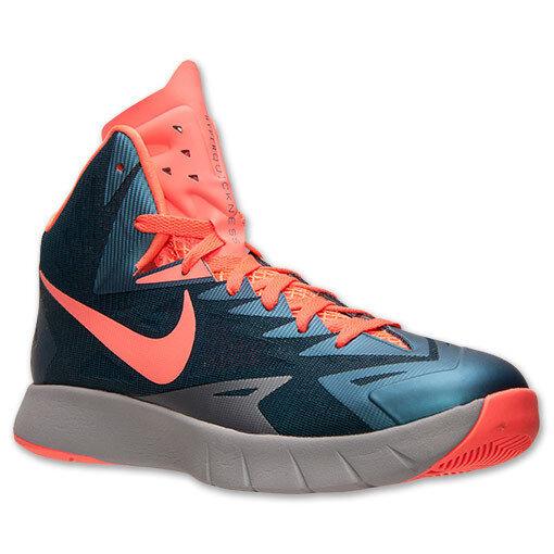 Men's Nike Lunar Hyperquickness Basketball shoes, 652777 480 Sizes 8.5-13 Mango