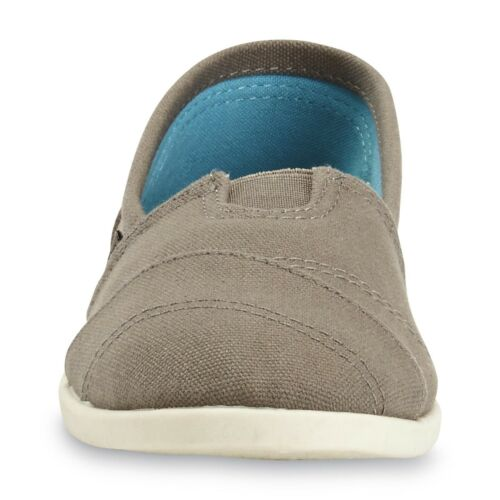 Details about  /Joe Boxer Women/'s Eastern Grey Casual Aline Canvas Slip-On Shoes 5-11M