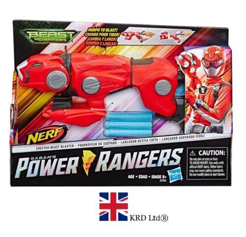 POWER RANGERS BEAST MORPHERS CHEETAH BEAST BLASTER Red Ranger Toy Gift NE5903 UK