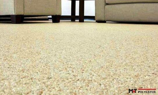 Steinteppich + 2K-Bindemittel für Wohnraum INNEN 10 m² SET= ALLE Farben