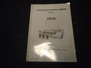 selco eb90 panel saw maintenance manual ebay rh ebay com Omga Saw Omga Saw