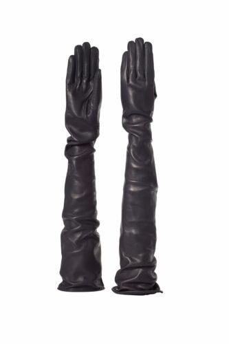 Parisi Leather Gloves Unlined 80 cm guanti pelle sfod 80cm  leder handschuhe