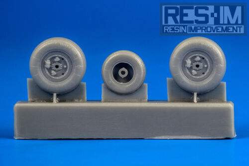 Resin Improvement 172 Sukhoi Su25 Wheel Set