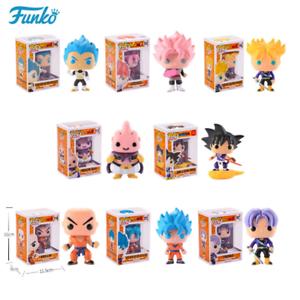 Funko-pop-Dragon-Ball-Vinyl-Action-Figure-Son-Goku-Krilin-Trunk-Buu-Vegeta