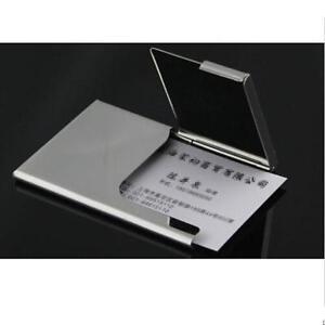Anti-scan-Metal-Case-Slim-RFID-Blocking-Wallet-Clip-ID-Credit-Card-Holder-Men