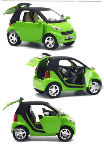 4 Color Smart Diecast Car Model Kids Toy Vehicle Learning Preschool Pretend Play