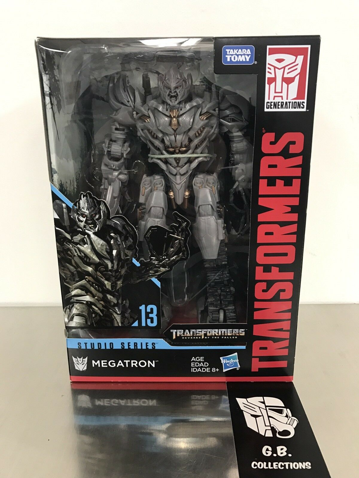 Transformers Studio Series Megatron Voyager Class NEW SEALED