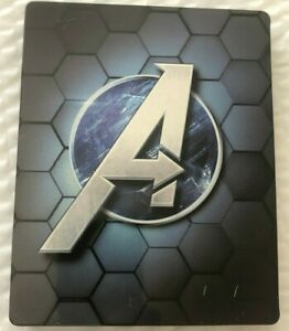 Marvel-039-s-Avengers-Limited-Edition-STEELBOOK-Case-NO-GAME-INCLUDED
