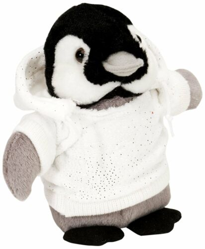 Wild Republic Holiday Hoody CK Penguin Plush