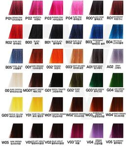 Anthocyanin Hair Color Manicure 230g (45 colors) Semi Permanent Hair ...
