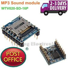 U-disk audio player SD card voice module MP3 Sound module WTV020-SD-16P Arduino