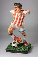 "Guillermo Forchino Comic The Soccer Player 7.8"" Art Figurine Sculpture Statue"