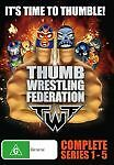 Thumb-Wrestling-Federation-Series-1-5-DVD-2013-5-Disc-Set-NEW-AND-SEALED