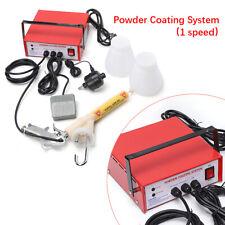220v Electrostatic Spray Gun Portable Paint Gun Powder Coating System Fast Ship