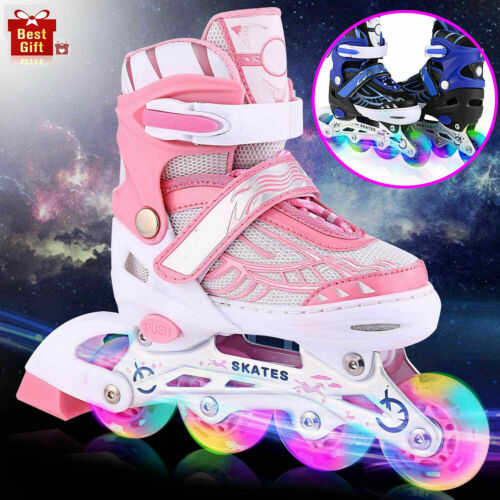 Details about  /Adjustable Inline Skates Roller Blades Adult /& Kid Breathable Outdoor Sport 2021