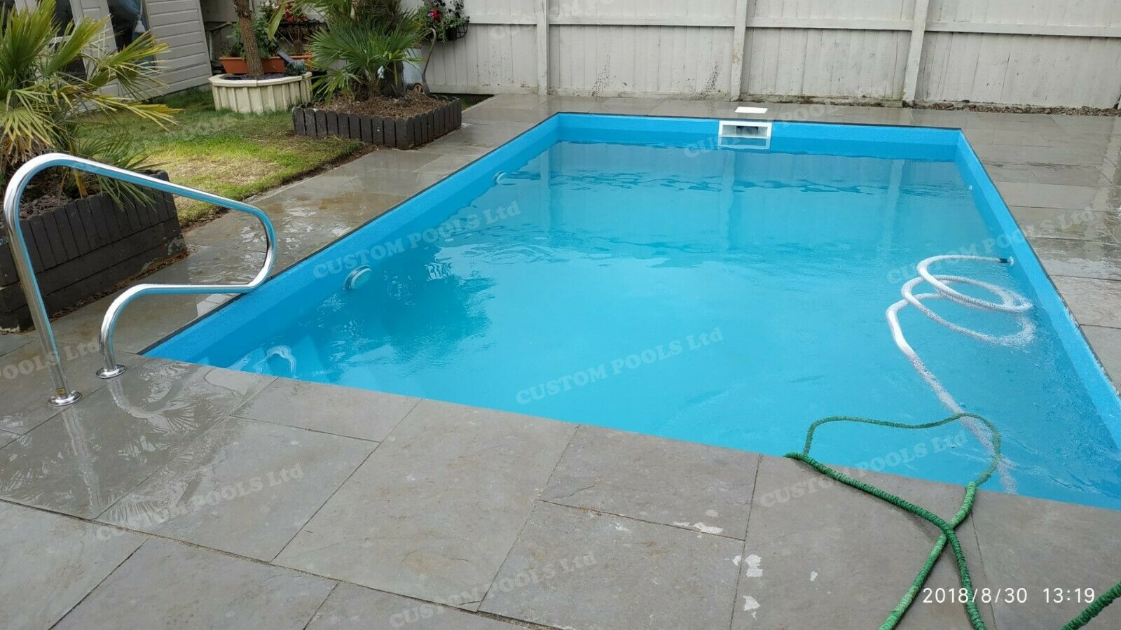 Fibreglass Polyester SWIMMING POOL any SIZE any SHAPE above / in - ground ALL UK