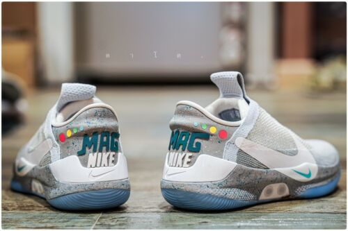 Back to The Future Nike Mag Rubber