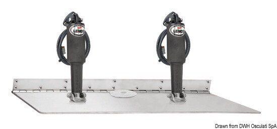 Kit flap Lenco Super 24 V-Doppel Aktuator Aktuator Aktuator Marke Lenco 51.253.13 f6dca6
