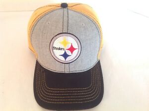 official photos 28ea0 a017e Image is loading New-Era-NFL-Pittsburgh-Steelers-9FIFTY-CAP-HAT-