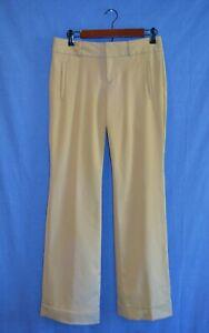 Banana-Republic-Martin-Fit-Stretch-Cuffed-Dress-Khaki-Pants-Women-039-s-Size-4