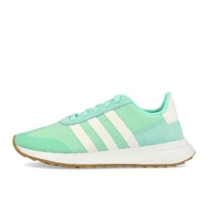 best sneakers for cheap detailed images Details zu adidas FLB_Runner W Aqua White Gum Schuhe Sneaker Mint Grün Weiß